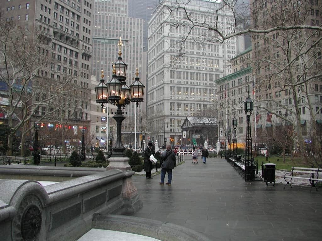 טיול בניו יורק בחורף