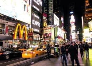 חיי לילה בניו יורק (כיכר הטיימס)